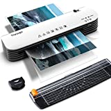 Laminator, Toyuugo A4 Laminator, 4 in 1 Thermal Laminator for Home Office School Use, 9 inches Max Width, Quick Warm-Up, Paper Trimmer, Corner Rounder (15 Laminating Pouches)