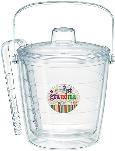 Tervis 1067049 Hallmark - Great Grandma Ice Bucket with Emblem and Clear Lid 87oz Ice Bucket, Clear (Ice Tervis Bucket)