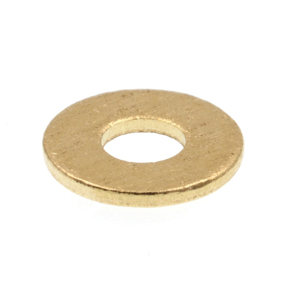 """SAE Flat Washers #6x5//16/"""" OD 50 pack Solid Brass"""