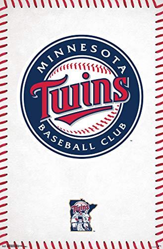 Trends International Minnesota Twins-Logo Clip Bundle Wall Poster 22.375