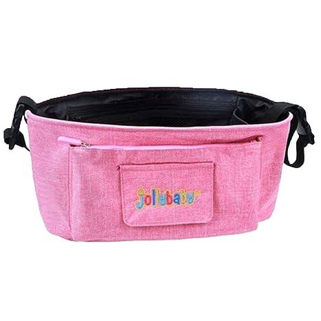 Organizador para cochecito de bebé rosa: Amazon.es: Bebé