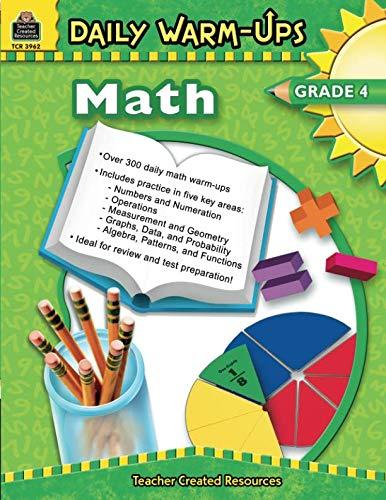 Daily Math Warm Ups - Daily Warm-Ups: Math, Grade 4: Math, Grade 4