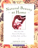 Natural Beauty at Home, Janice Cox, 0805070222