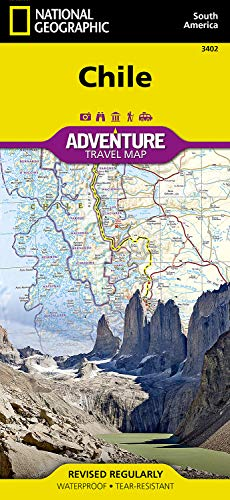 National Paper Geographic Map Adventure (Chile (National Geographic Adventure Map))
