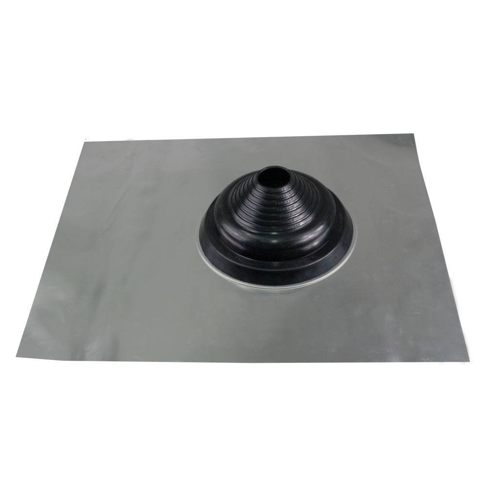 Seldek Aluminium Roof Chimney Flashing 110-200mm - Suitable for Slate or Tile pitched roofs up to 45° DEKS