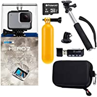 GoPro Hero7 White Bundle with Float Handle, Handheld...