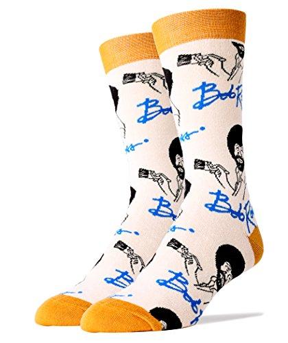 Oooh Yeah Socks ! Mens Crew It's Bob Ross …
