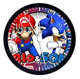 "Best SuperSonic clock - Huge X-large Size 14"" Super Mario Super Sonic Review"