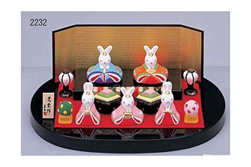 Hina-ningyo Traditional Kimono Doll Figurines of Japan Rabbits 2232