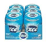 Excel Sugar-Free Gum, Peppermint, 60pc Bottle, 6 Count