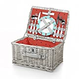 By Picnic Time Catalina Watermelon Picnic Basket Set