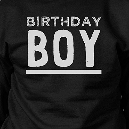 365 Printing - Sudadera - Manga Larga - para mujer Birthday Boy - Black