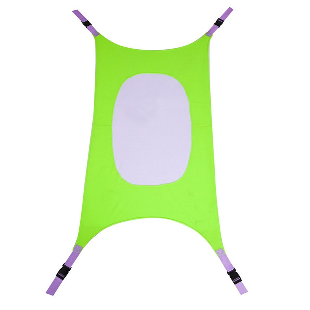 Detachable Baby Crib Hammock, Adjustable One Size Fits All, Imitates Womb, Portable Baby Sleeping Bed Folding Infant Crib, Easy to Use Safety Bed for Crib or Bassinet for Infants Nursery (green)