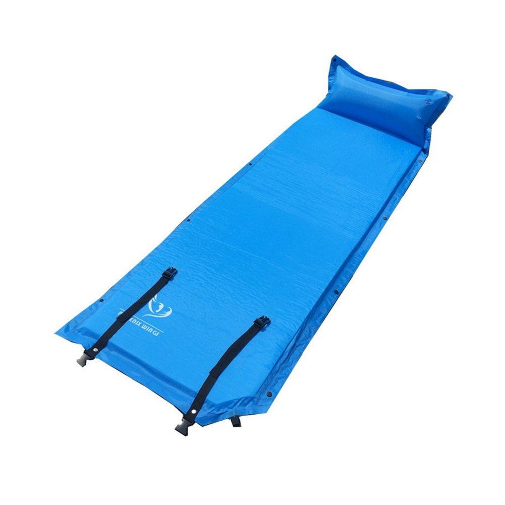 Zelt-Schlafenauflage-aufgeblähtes Mat-Schlafenauflage-im Freien Feuchtigkeits- / Feuchtigkeitspermeabilität wasserdichtes ultra helles flaches aufblasbares Kissen kann einzeln genäht werden