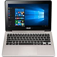 ASUS VivoBook Flip TP200SA-DH01T 11.6 inch display Thin and Lightweight 2-in-1 HD Touchscreen Laptop, Intel Celeron 2.48 GHz Processor, 4GB RAM, 32GB EMMC Storage, Windows 10 Home