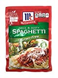 thick pasta sauce - Mccormick Gluten Free Thick and Zesty Spaghetti Sauce Mix 1.37oz Packet (Pack of 3)