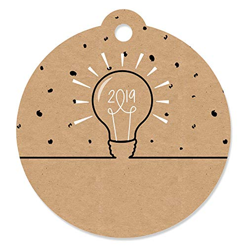 Bright Future - 2019 Graduation Party Favor Gift Tags (Set of 20)