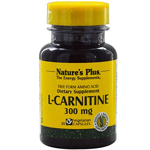 Nature's Plus, L-Carnitine, 300 mg, 30 Veggie Caps - 2pc by Nature's Plus
