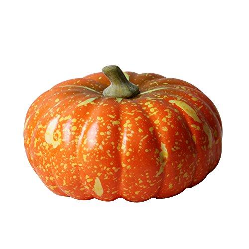 Meijiu Artificial Vegetables and Fruits DIY Large Pumpkin Fake Vegetable