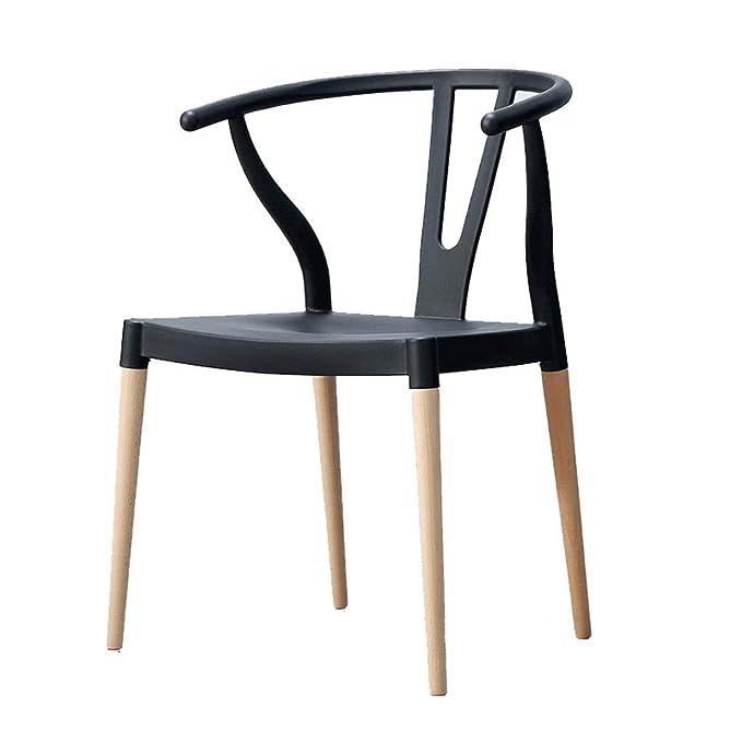 SLH Silla Sillón Nordic Modern Minimalist Home Y Chair Silla ...