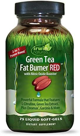 Green Tea Fat Burner Red, 0.27 Pound