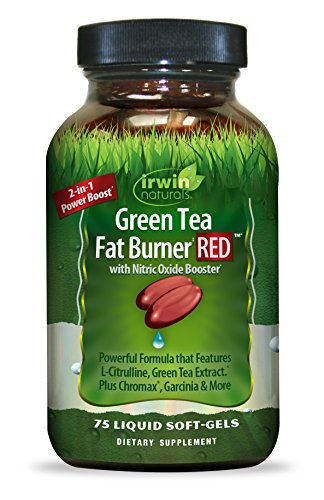Irwin Naturals Green Tea Fat Burner Red, 75 Count