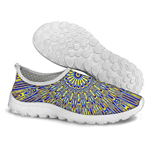 Voor U Ontwerpen Mode Coole Casual Loopschoenen Handige Slip Op Lui Schoenen Voor Vrouwen Dame Meisjes Us5-us12 Color4