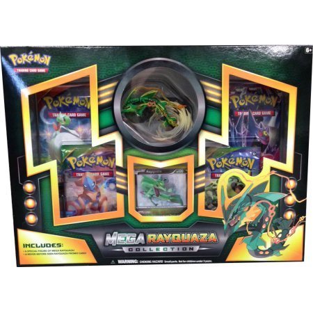 Pokemon Tcg: Mega Rayquaza Figure Collection