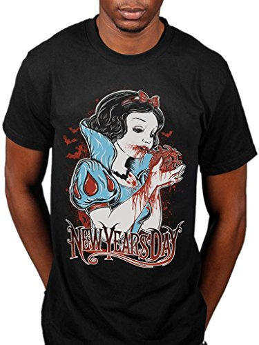 Official New Years Day Heart Eater T-Shirt Black