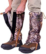 Pike Trail Leg Gaiters – Waterproof and Adjustable Snow Boot Gaiters for Hiking, Walking, Hunting, Mountain Cl