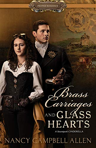 Book Cover: Brass Carriages and Glass Hearts