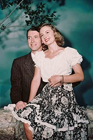 It/'s A Wonderful Life James Stewart Donna Reed 24x36 Movie Poster!