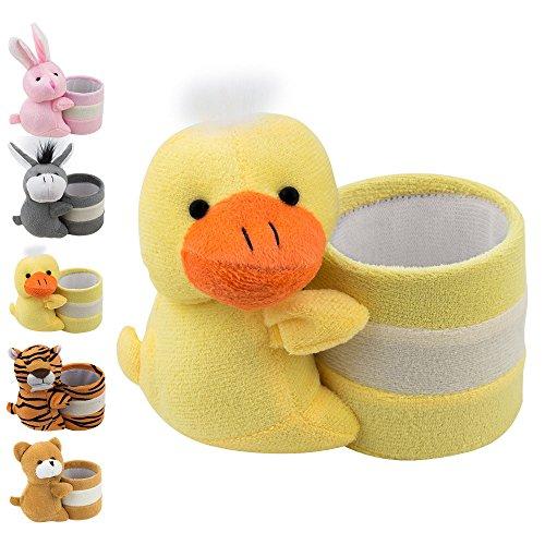 Eyeglass Holder Glasses Stand with Cute Plush Animal Character Design, Duck, By ()
