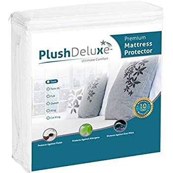 Cot Size Terry 100/% Cotton Waterproof Mattress Protector For Camping Beds GILBIN/'S GC6852