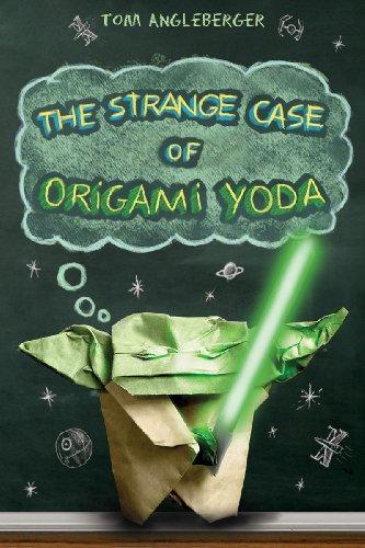 Book cover for The Strange Case of Origami Yoda