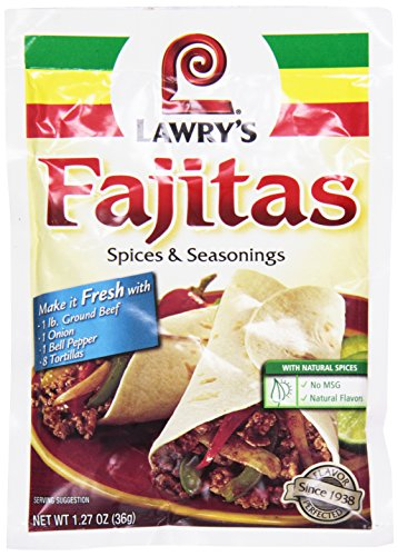 Lawry's Fajitas Spices & Seasonings, 1.27 oz ()