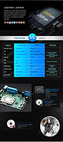 XTRONS 7 Inch Android 6.0 Octa-Core Capacitive Touch Screen Car Stereo Radio DVD Player GPS CANbus Screen Mirroring Function OBD2 Tire Pressure Monitoring for Audi TT MK2 by XTRONS (Image #3)