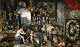 Reproductions Decorative Painting Not Stretched and Not Framed ,Rubens Peter Paul Brueghel the Elder Jan Sight 1617 , is the best gift for your relatives, or girl friend and boy friend. That is also for Bar, Basement, Bathroom, Bedroom, Dinin...