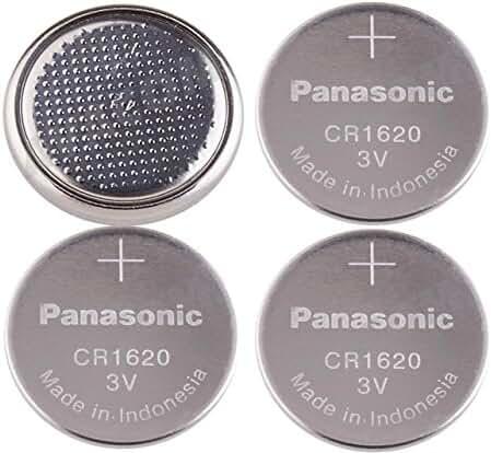 4-Pcs -- Panasonic CR1620 (Prepackaging) 3v Lithium Coin Cell Battery