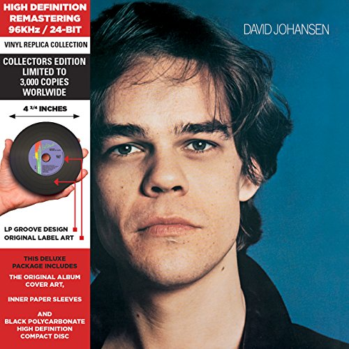 David Johansen - Cardboard Sleeve - High-Definition CD Deluxe Vinyl Replica