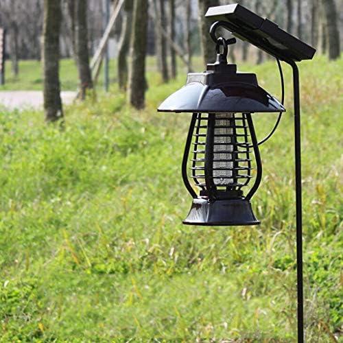 Fheaven - Lámpara solar para matar mosquitos, repelente de ...