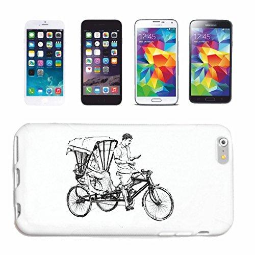 """cas de téléphone iPhone 7 """"BICYCLE VINTAGE MOUNTAIN BICYCLETTE REPARATION CYCLISME SPORT BIKE TOUR VELO SHIRT"""" Hard Case Cover Téléphone Covers Smart Cover pour Apple iPhone en blanc"""