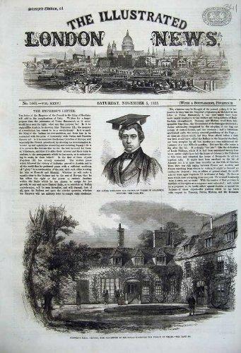 Traje Académico 1859 de Príncipe País De Gales de Pasillo ...