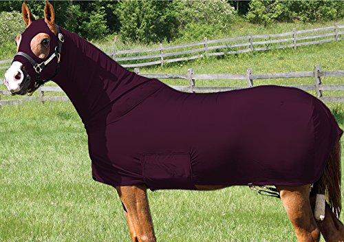Lycra Full Body Slicker/Sheet / Blanket with Full Separating Zipper (Lycra Full Body Medium Horse)