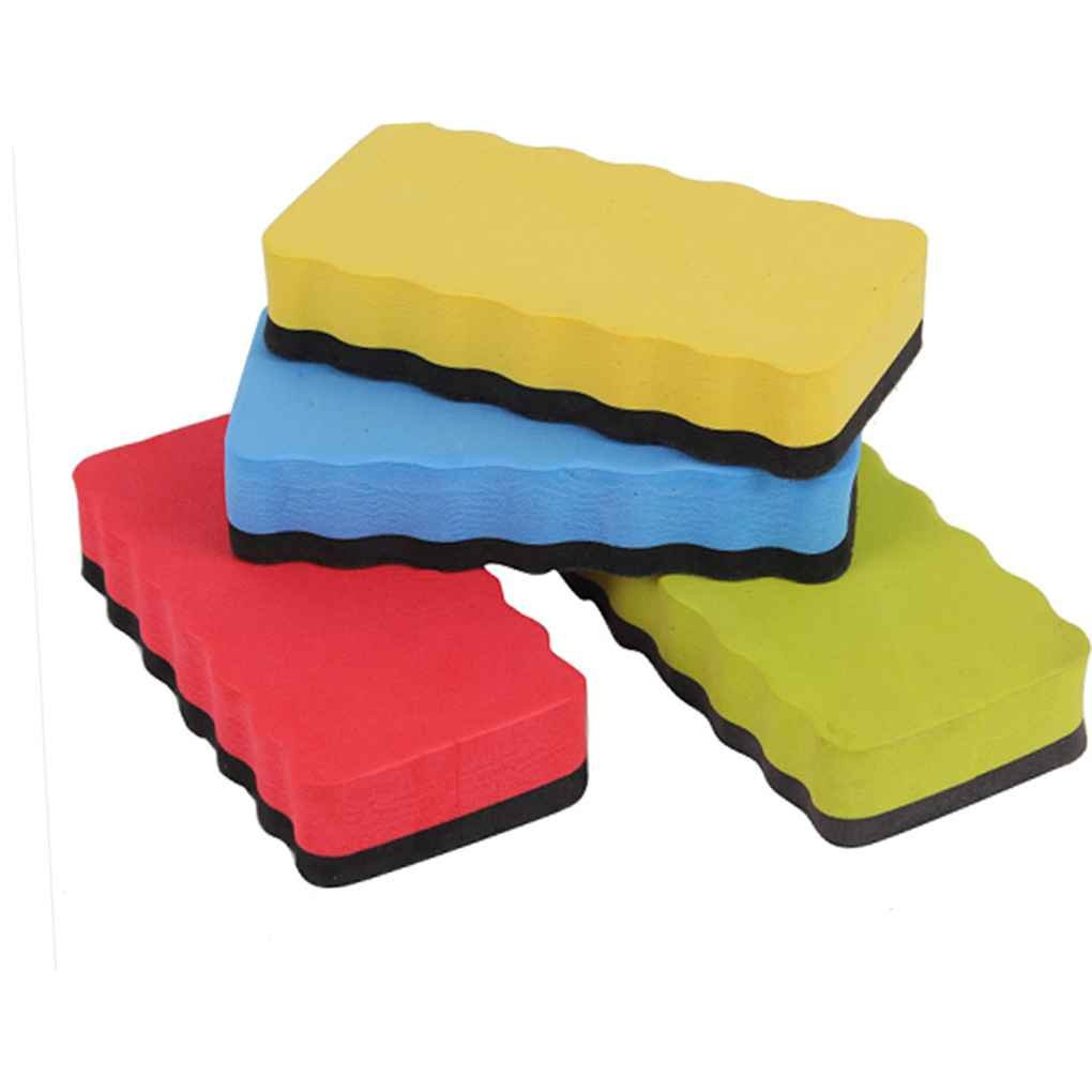 Lorjoy Blackboard Eraser Magnetico Foam Eraser Chalk Brush Whiteboard Eraser Secco(Colore Casuale)