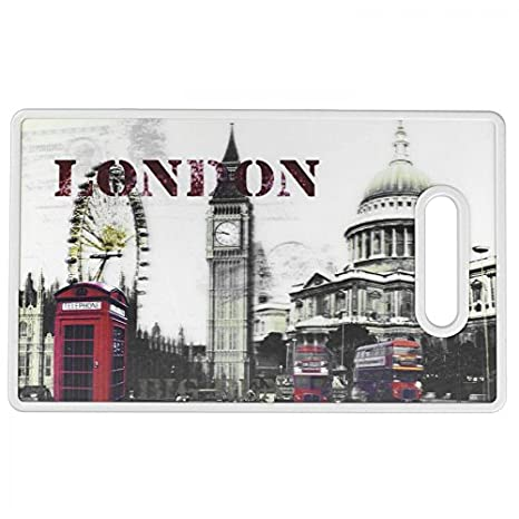 Amazon.com: Cuisinart CCB-3DLDN 3-D City Collection London Cutting Board: Kitchen & Dining