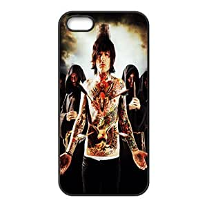 Gators Florida USA Design Music Band 3 Bring Me The Horizon Print Black Case With Hard Shell Cover for Apple iPhone 5S... by lolosakes