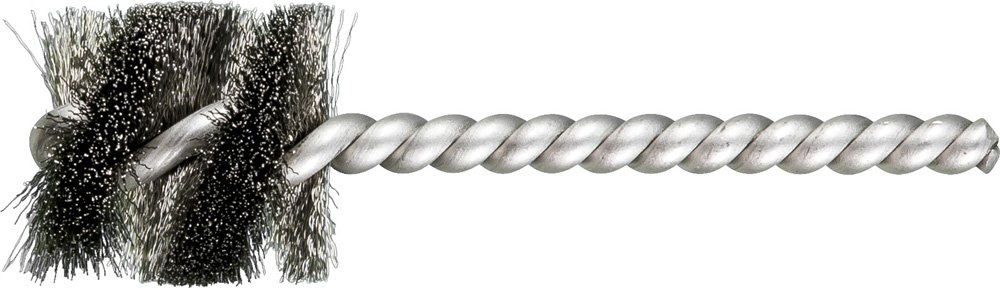 1 Diameter Single Stem//Spiral.005 1 Brush Part Length Stainless Steel Wire 1//4 Stem Pack of 36 INOX PFERD 83402 SpyraKleen Tube Brush PFERD Inc. Pack of 36 Single Stem//Spiral.005 1 Diameter 1//4 Stem 1 Brush Part Length
