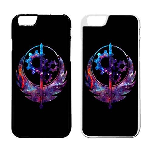 Fallout 4 Brotherhood Of Steel Galaxy IPhone Case Iphone 6 Plus Case or Iphone 6S Plus Black Plastic IB