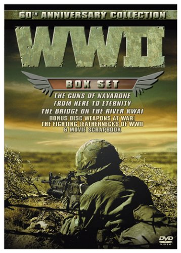WWII 60th Anniversary Collection (The Guns of Navarone/From Here to Eternity/The Bridge on the River Kwai) (Includes Collectible - Wwii Collection